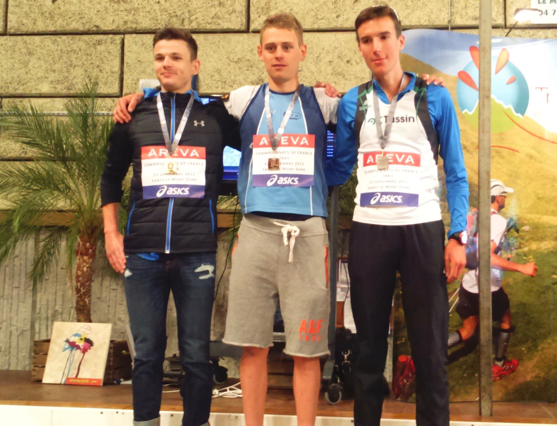 France de trail: podium de Kilian Medec