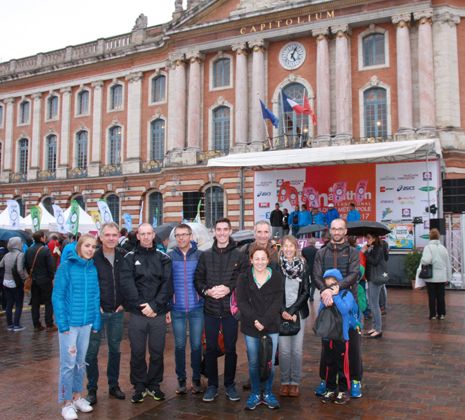 Déplacement au Marathon de Toulouse :